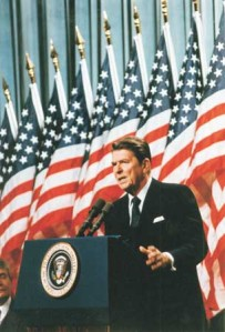 reagan-with-flags