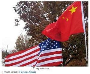 us-china-flags