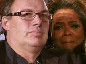 Oprah and Friend Grant Park
