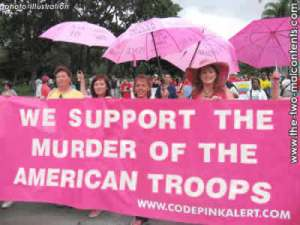 Code Pink at their Finest!
