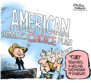 Hillary Health Choice Plan