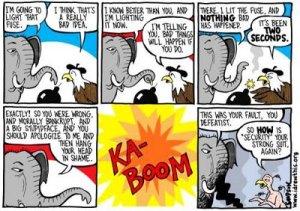 Republicans Liight Fuse