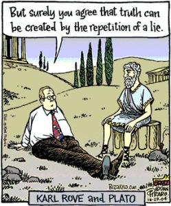Rove and Plato