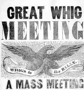 Whig Party Rally