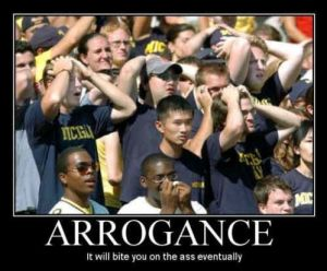 Arrogance UM