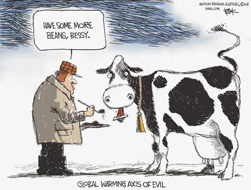 Cow Fart Cartoon
