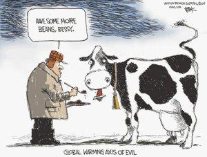 Cow Fart Cartoon
