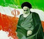 iran khomeini flag