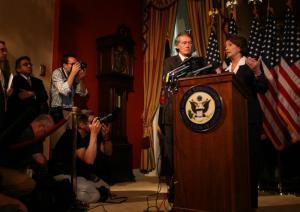 Pelosi and Markey Discuss the Bill