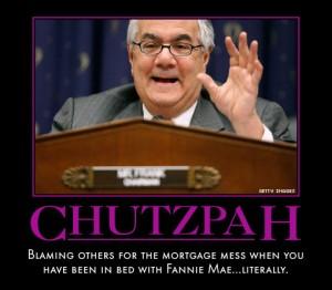 Barney Frank Chutzpah