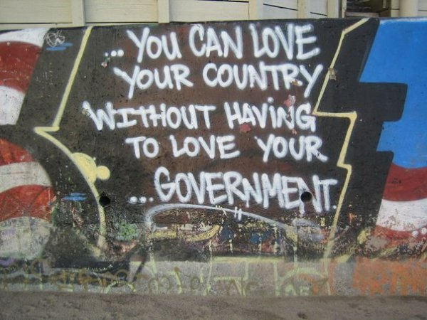 Love Country Without Government