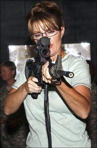 Palin Simulator Gun