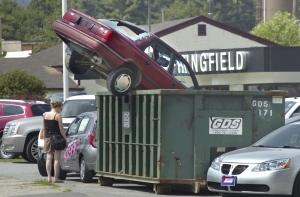 Car Dumpster