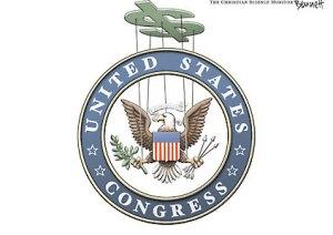 Congress Money Puppet