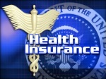 Health Insurance Blue Logo