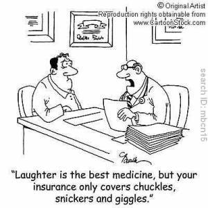 Health Insurance Cartoon Giggles
