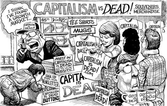 Capitalism is Dead Cartoon
