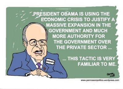 Cheney Tactic Familiar