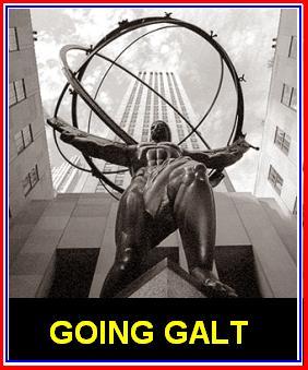 Going Galt Statue