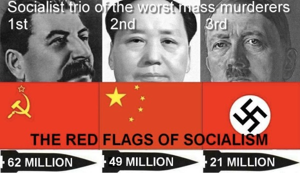 Do you really need any other proof that socialism is bad than to know it was the tool of choice for these three?