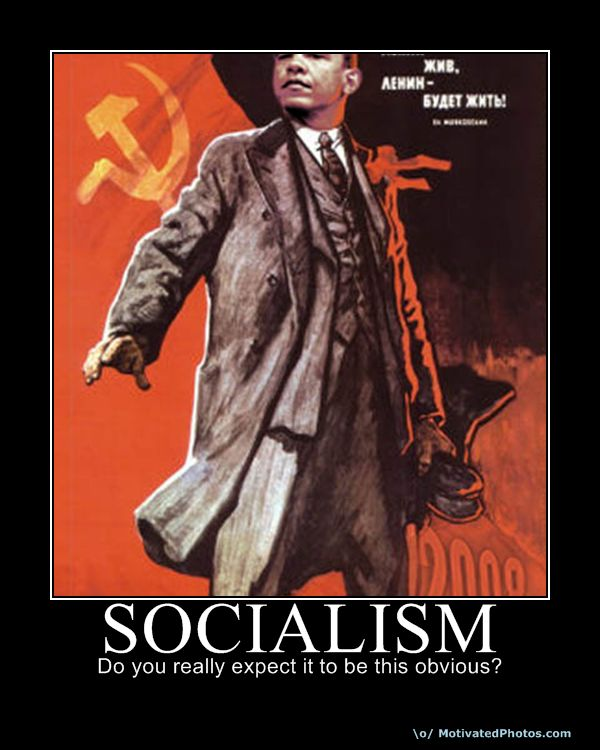 Calm down folks... Just a little Obama Socialist Fun