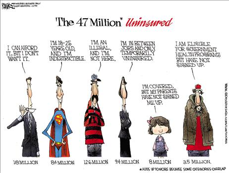 Uninsured Cartoon