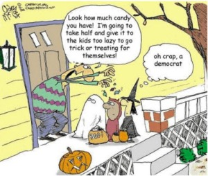 Democrat Trick or Treat