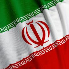 پرچم ایران عزیز