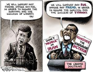 Kennedy Obama Policy