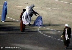 Taliban Executing Women on Famous Soccer Killing Fields