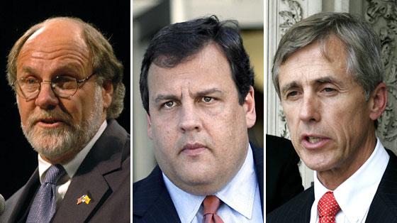 Corzine, Christie, & Daggett