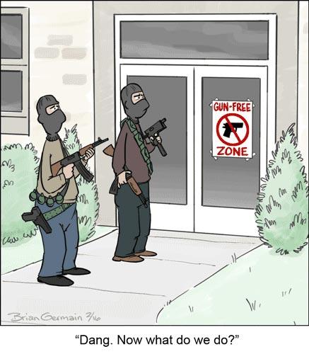 Gun Free Zone Dang