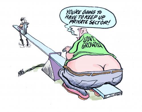 Image result for cartoons big fed government