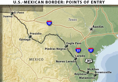 Guest Commentary  Open Border with Mexico A Study in Contrast