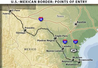 Texas Mexico Border