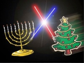 Holiday Lightsaber